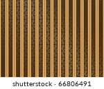 old fashioned brown and golden... | Shutterstock .eps vector #66806491