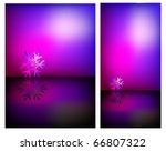 abstract creative winter...   Shutterstock .eps vector #66807322