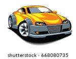 sport car    Shutterstock .eps vector #668080735