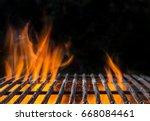 Empty Bbq Flaming Charcoal Cas...