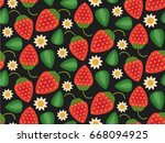 vector flat style seamless... | Shutterstock .eps vector #668094925