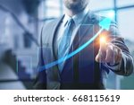 business. | Shutterstock . vector #668115619