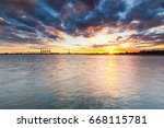 Princes Pier Sunset With...
