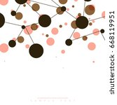 abstract template with clean... | Shutterstock .eps vector #668119951