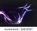eps10 vector abstract energy... | Shutterstock .eps vector #66813367