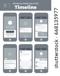wireframe ui kit for mobile...
