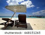 lang tengah island  terengganu  ...   Shutterstock . vector #668151265