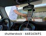 road trip   Shutterstock . vector #668163691