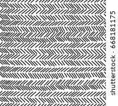 doodle slashes seamless pattern.