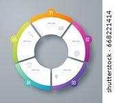 infographics template 5 options ...   Shutterstock .eps vector #668221414