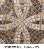 abstract geometric pattern ... | Shutterstock . vector #668232499