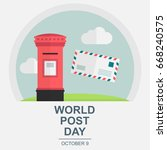 World Post Day  October 9....