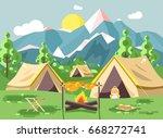 stock vector illustration... | Shutterstock .eps vector #668272741