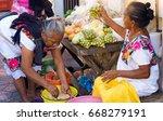 valladolid  mexico   february... | Shutterstock . vector #668279191