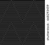blocks wallpaper. repeated...   Shutterstock .eps vector #668293459