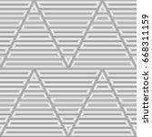 blocks wallpaper. repeated...   Shutterstock .eps vector #668311159