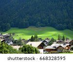 Small photo of Green Alpine valley