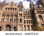 Stock photo toronto city hall 66835141