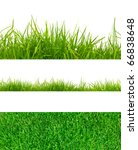 3 backgrounds of fresh spring... | Shutterstock . vector #66838648