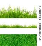 3 backgrounds of fresh spring... | Shutterstock . vector #66838648