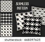 abstract concept vector... | Shutterstock .eps vector #668397625