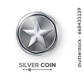 game silver coin with star....