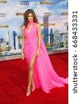 zendaya at the world premiere... | Shutterstock . vector #668433331