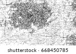 black and white abstract grunge ... | Shutterstock . vector #668450785