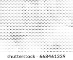 abstract halftone dotted... | Shutterstock .eps vector #668461339