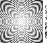 halftone texture. vector lines... | Shutterstock .eps vector #668466691