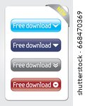 free download buttons. vector...
