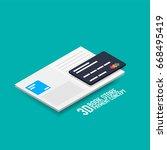 vector payment for e book or e... | Shutterstock .eps vector #668495419