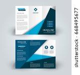 brochure template. business...   Shutterstock .eps vector #668495677