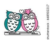 Owls Vector Illustration