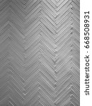 zigzag pattern of decorated... | Shutterstock . vector #668508931