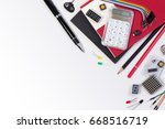 diy electronic maker tools... | Shutterstock . vector #668516719