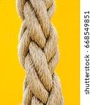 rope | Shutterstock . vector #668549851