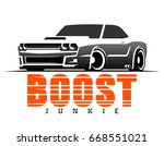 racing muscle car typography. t ... | Shutterstock .eps vector #668551021