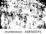 template black scratches on... | Shutterstock . vector #668560291