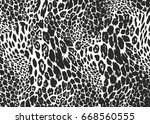 distressed overlay texture of... | Shutterstock .eps vector #668560555
