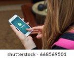 rosario  argentina   june 28 ... | Shutterstock . vector #668569501