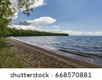 Mille Lacs Lake with Beach