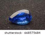 jewelry  gems  blue gem ... | Shutterstock . vector #668575684