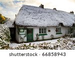 Traditional Irish Cottage At...