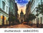 saint stephen basilica  szent... | Shutterstock . vector #668610541