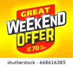 great weekend special offer...