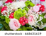 A Beautiful Rose Flower Bouque...