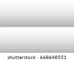 abstract halftone dotted... | Shutterstock .eps vector #668648551