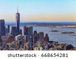 New York City South View At...