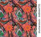 background texture  wallpaper ... | Shutterstock . vector #668666731